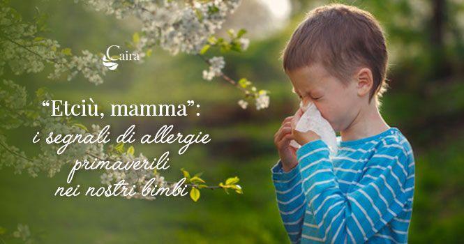Contrastare allergie bambini con rimedi naturali